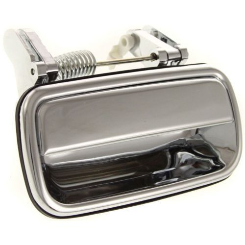 2001 2004 Toyota Tacoma Rear Door Handle Lh Outside All Chrome Plastic 2004 Toyota Tacoma Toyota Tacoma Door Handles