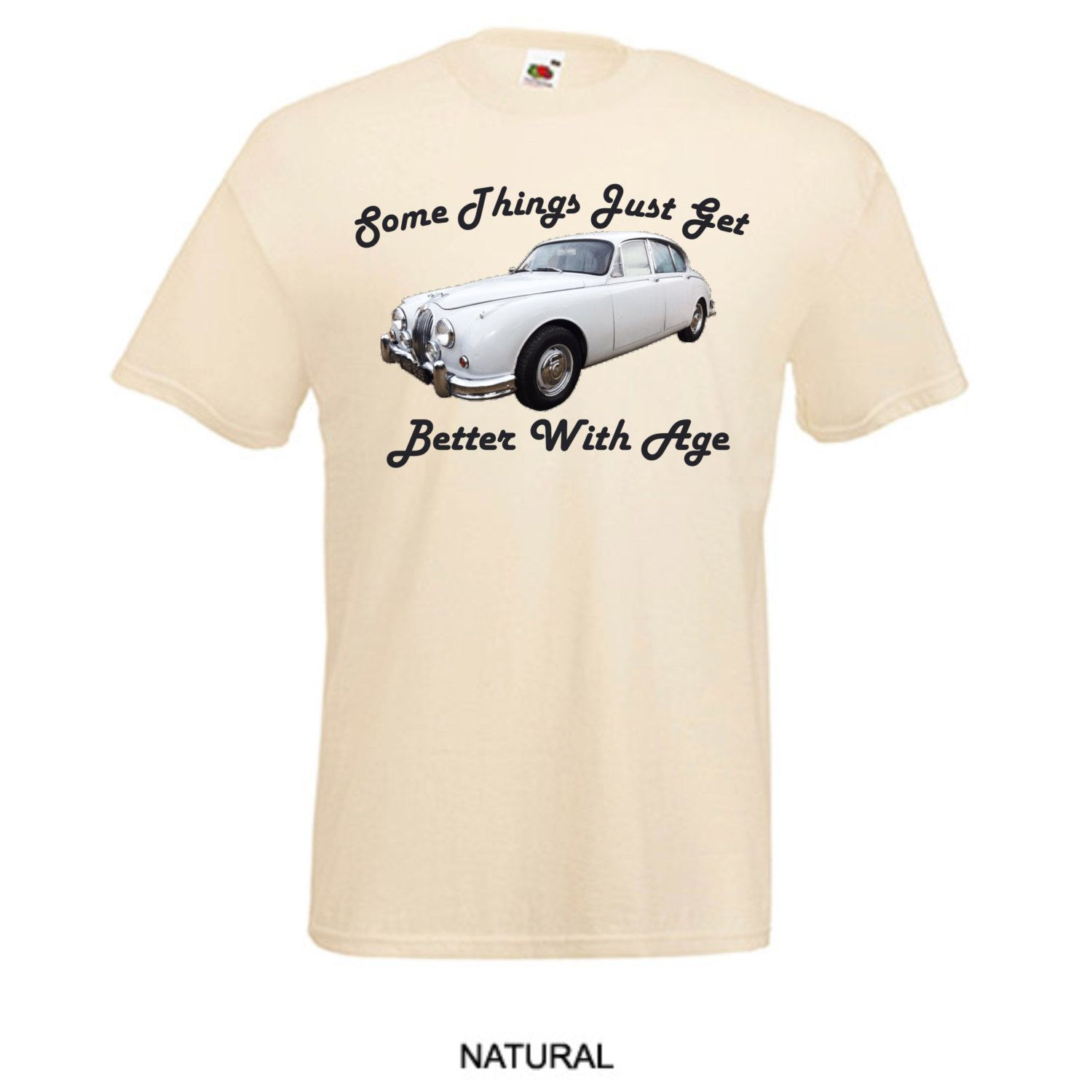 Classic Jaguar MK 2 Vintage Car Things Get Better with Age Printed ...