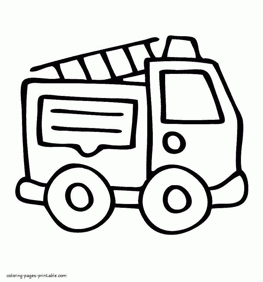 30 New Fire Truck Coloring Page In 2020 Truck Coloring Pages Monster Truck Coloring Pages Easy Coloring Pages