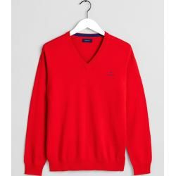 Photo of Gant V-Neck Sweater (Red) GantGant