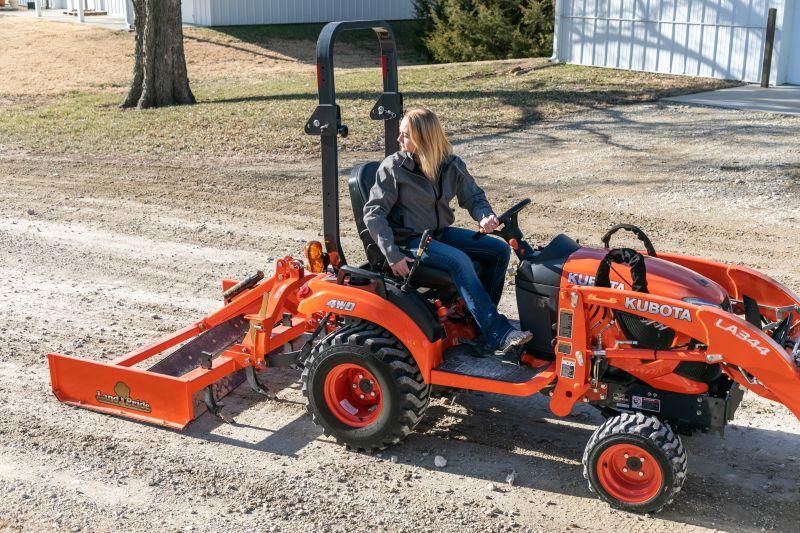 Gs05 Series Grading Scrapers Land Pride Hobby Farms Small Tractors Scraper
