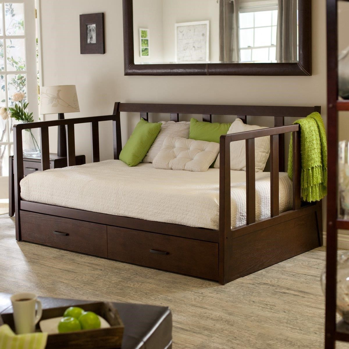 Extra Long Twin Pop Up Trundle Bed Digihome