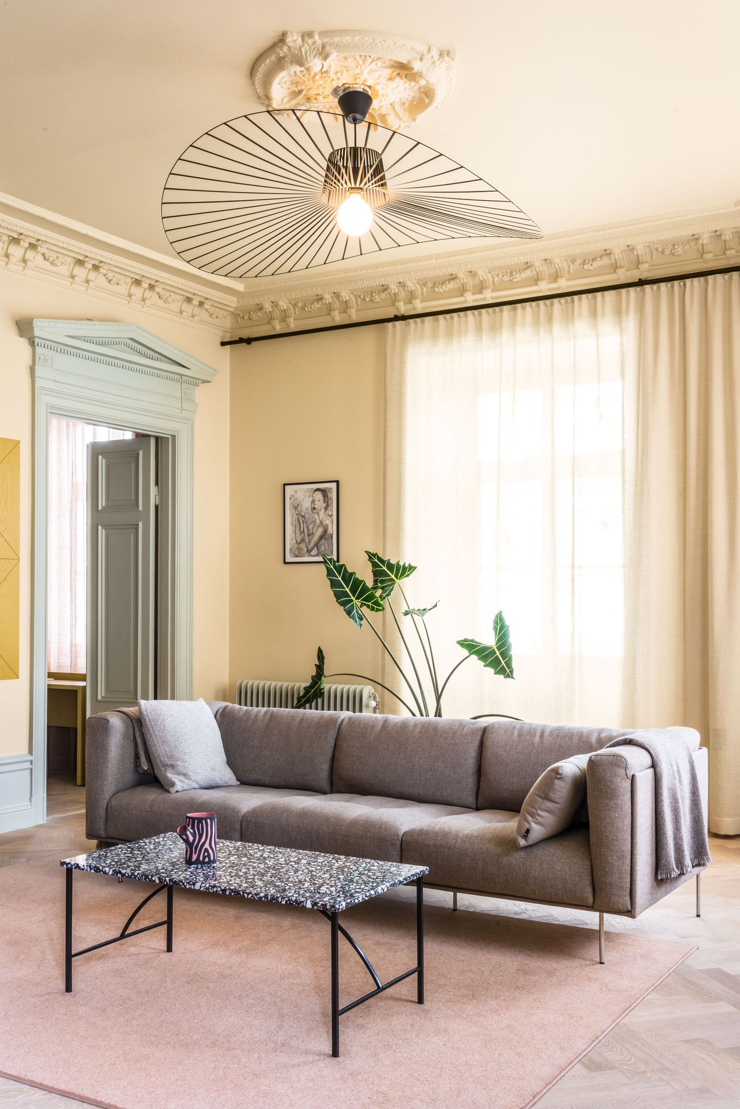 Exceptional Old Office In Stockholm Gets Transformed Into A Scandinavian Home_3  Old Office In Stockholm Gets Transformed Into A Scandinavian Home_3