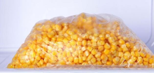 طريقة تفريز الذرة Food Vegetables Corn