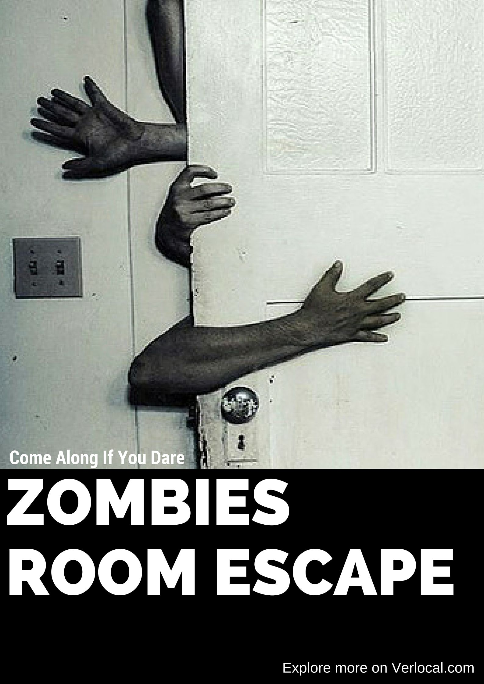 Prepare yourself for an hour of insane fun, team building, and laughter - as you are about to be trapped in a room with a zombie!