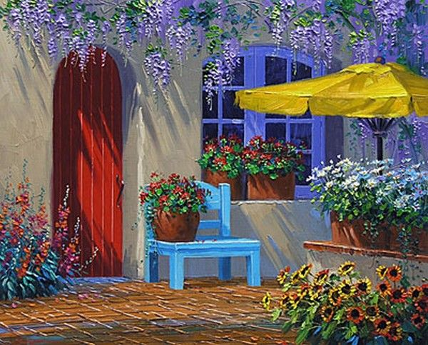 magnifique fond d 39 cran de fleur paysage dessins peinture pinterest cran paysages et les. Black Bedroom Furniture Sets. Home Design Ideas