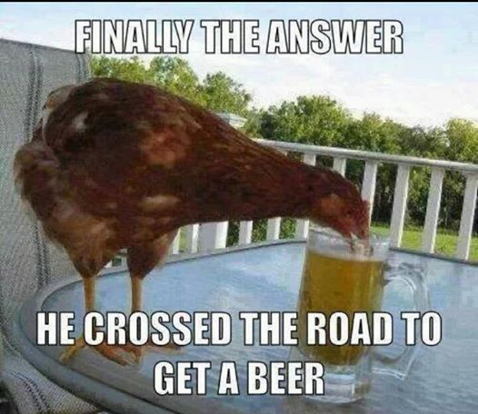 why did the chicken cross the road answers to those questions you