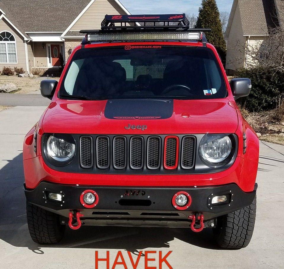 Havek With The Avid Contour Bumper Jipe Carros Auto