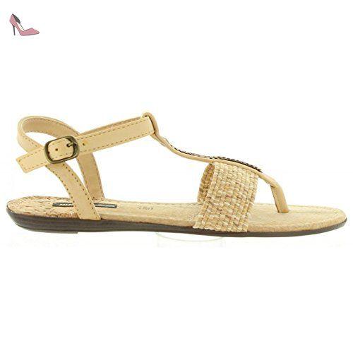 MTNG 53533 BEIGE - Livraison Gratuite avec  - Chaussures Sandale Femme
