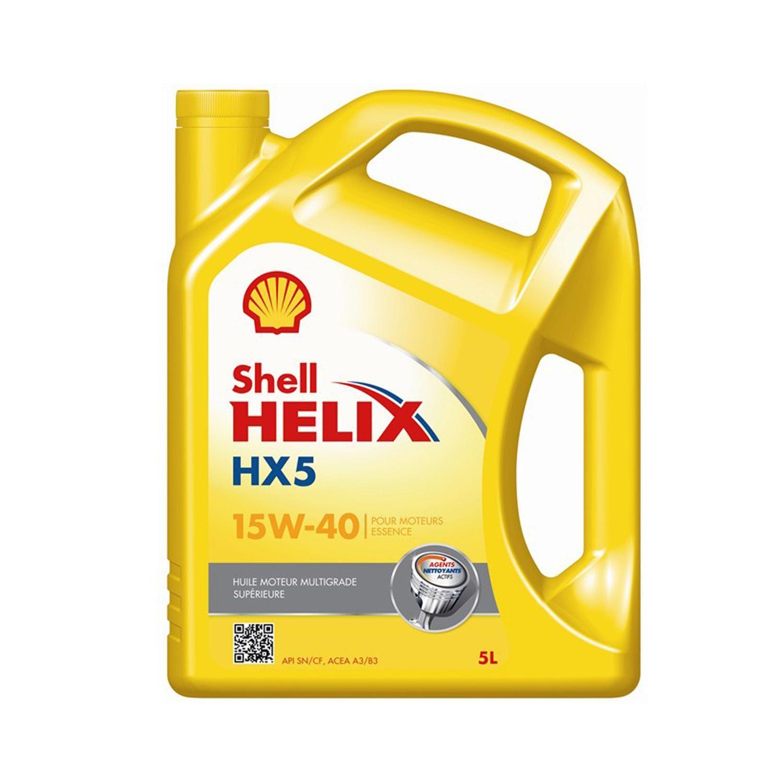 Huile Moteur Helix Hx5 15w 40 Shell A Prix Carrefour Huile Moteur Huile Voiture Huile