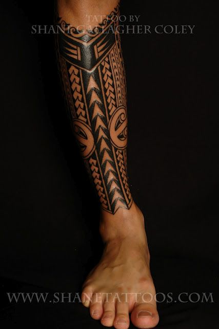 Another Polynesian Tattoo Tatouage Pinterest Tattoos Hawaiian