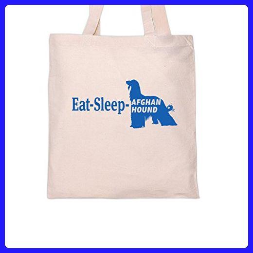 EAT SLEEP AFGHAN HOUND Dog DogsTote Bag Shoulder bags