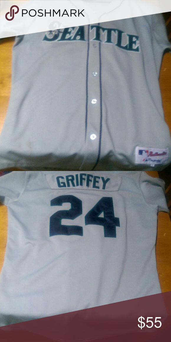 new arrival 14408 98016 Ken Griffey Jr jersey Ken Griffey Jr Seattle mariners ...