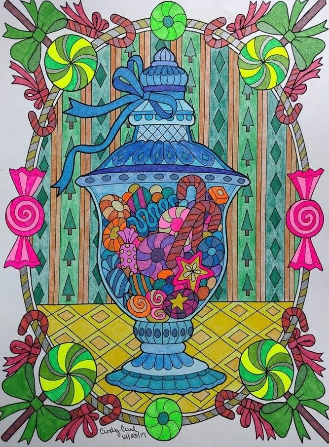 ColorIt Free Coloring Pages Colorist Cindy Tallmadge Curl - Culring Pajis