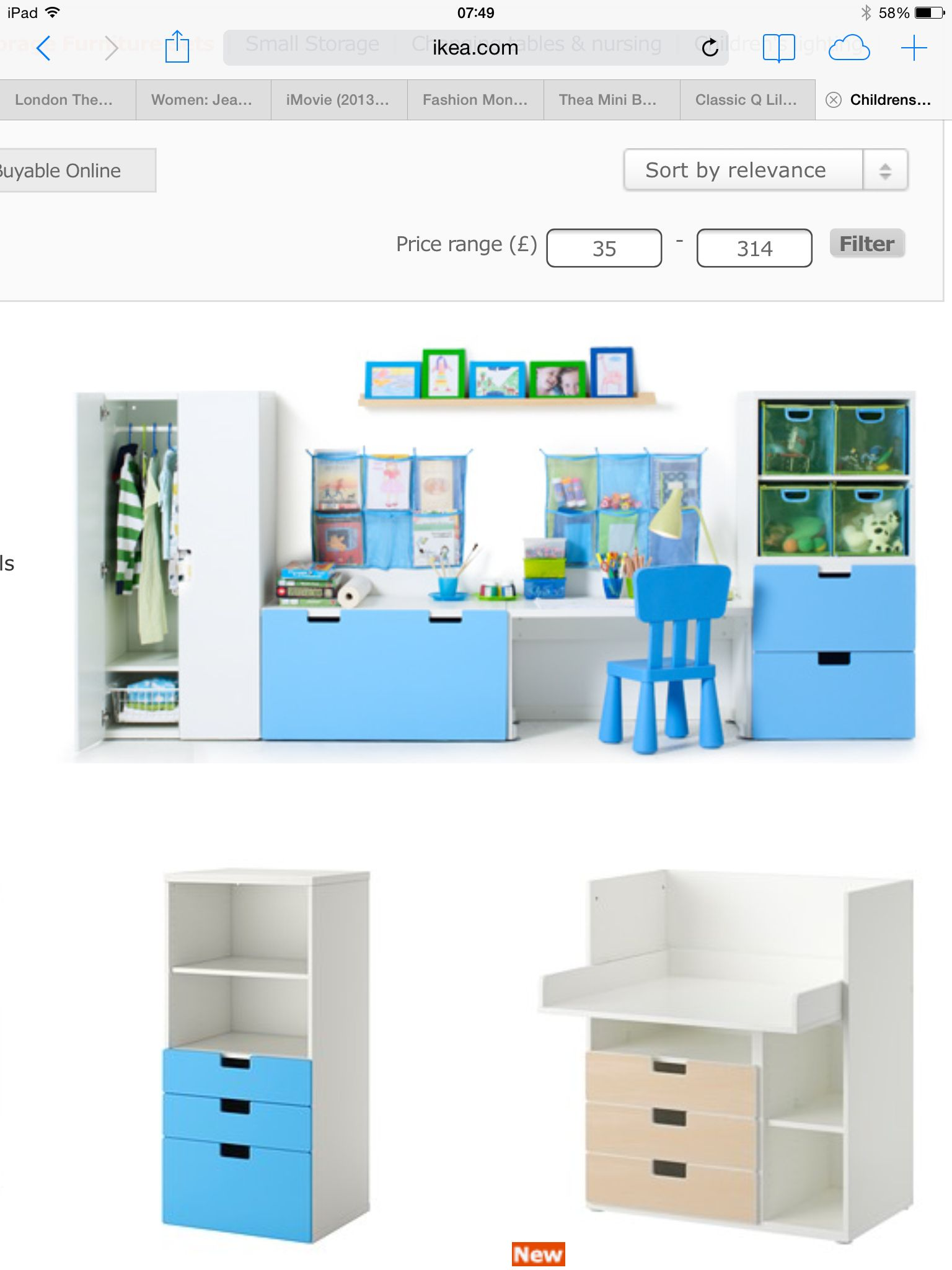 Cameretta Ikea Stuva Playroom Idea Ikea Stuva Series Basement Ikea Kids