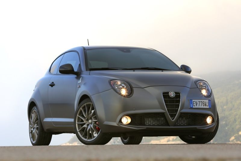 Alfa Romeo MiTo mit Ausstattungspaket QV Line