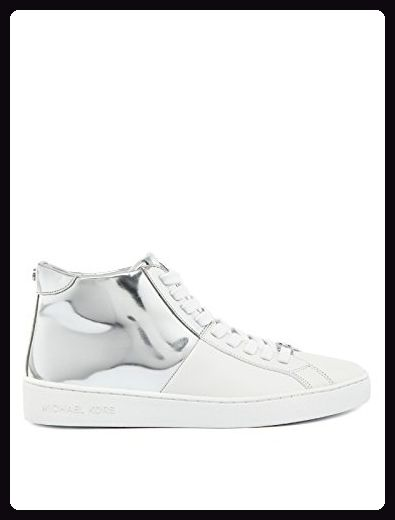 MICHAEL KORS Toby High Sneaker 36 weiss Sneakers für