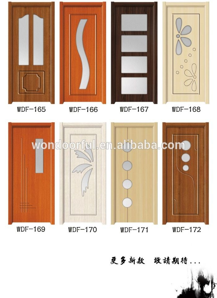 alibaba china latest wooden doors design product catalogue ...