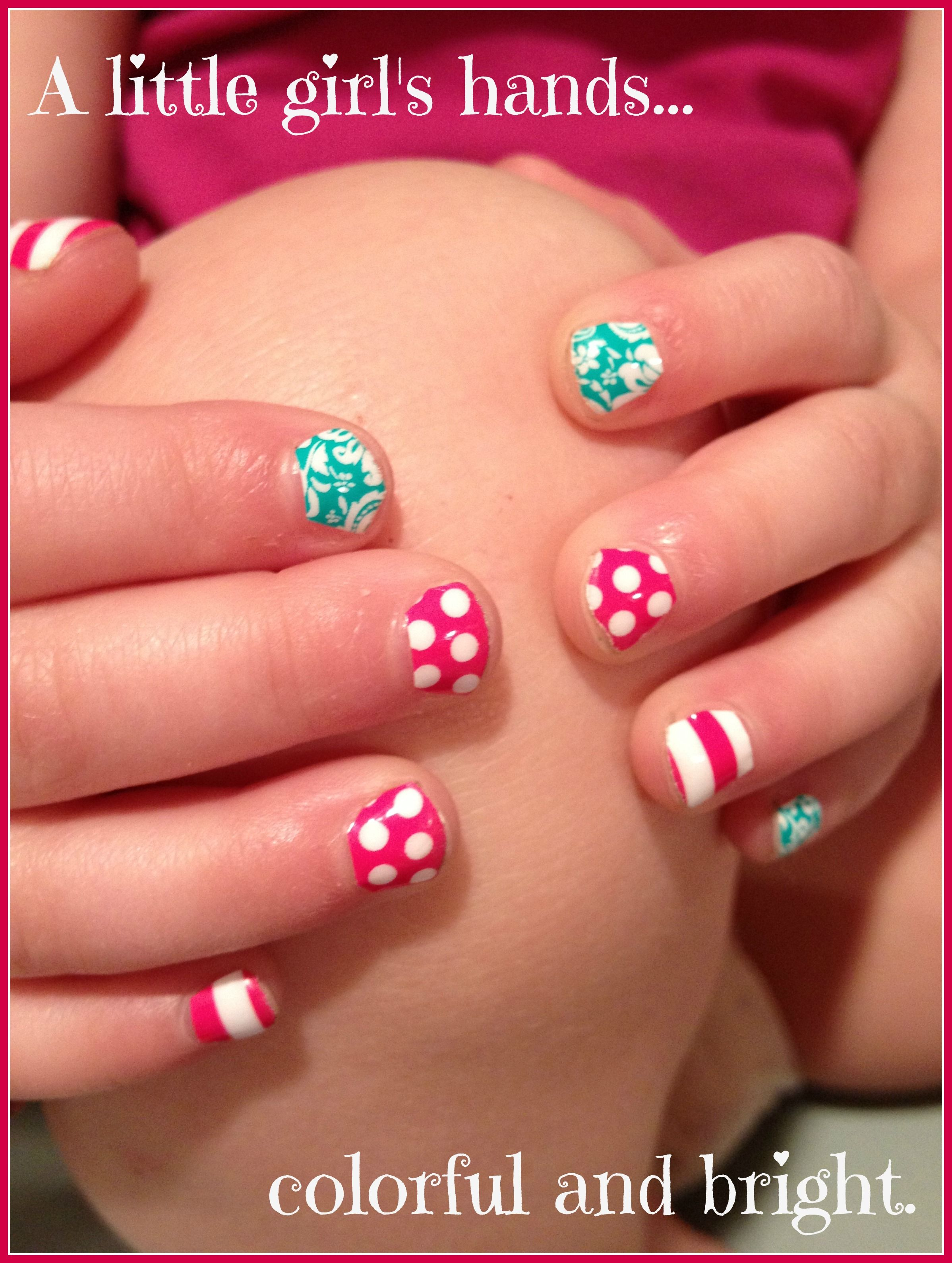 Pin by Diva My Nails on Little Girl Nails | Little girl ...