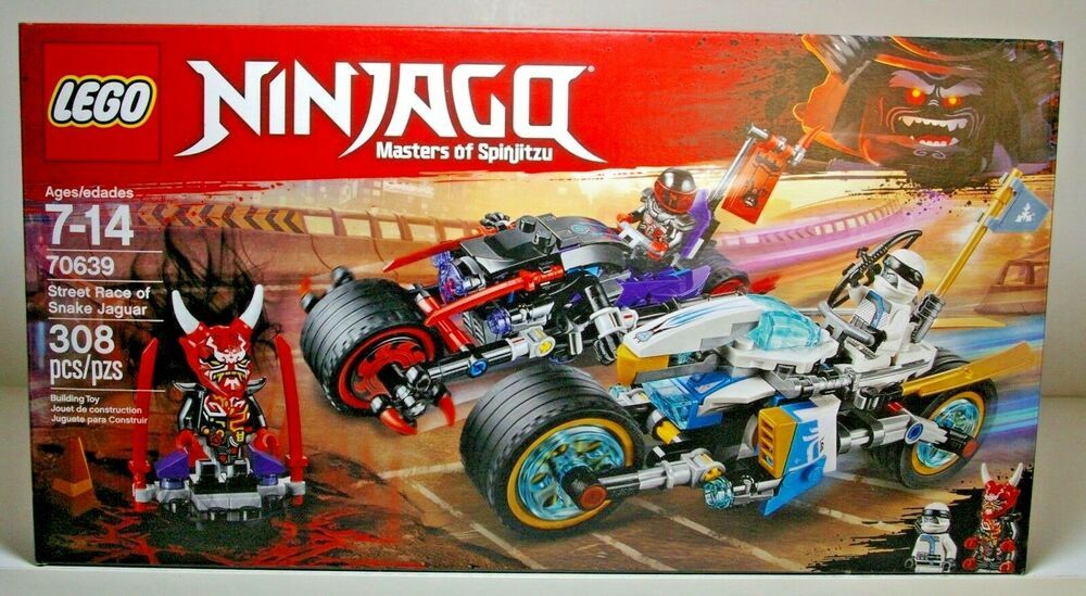 Straßenrennen des Schlangenjaguars 70639 LEGO NINJAGO