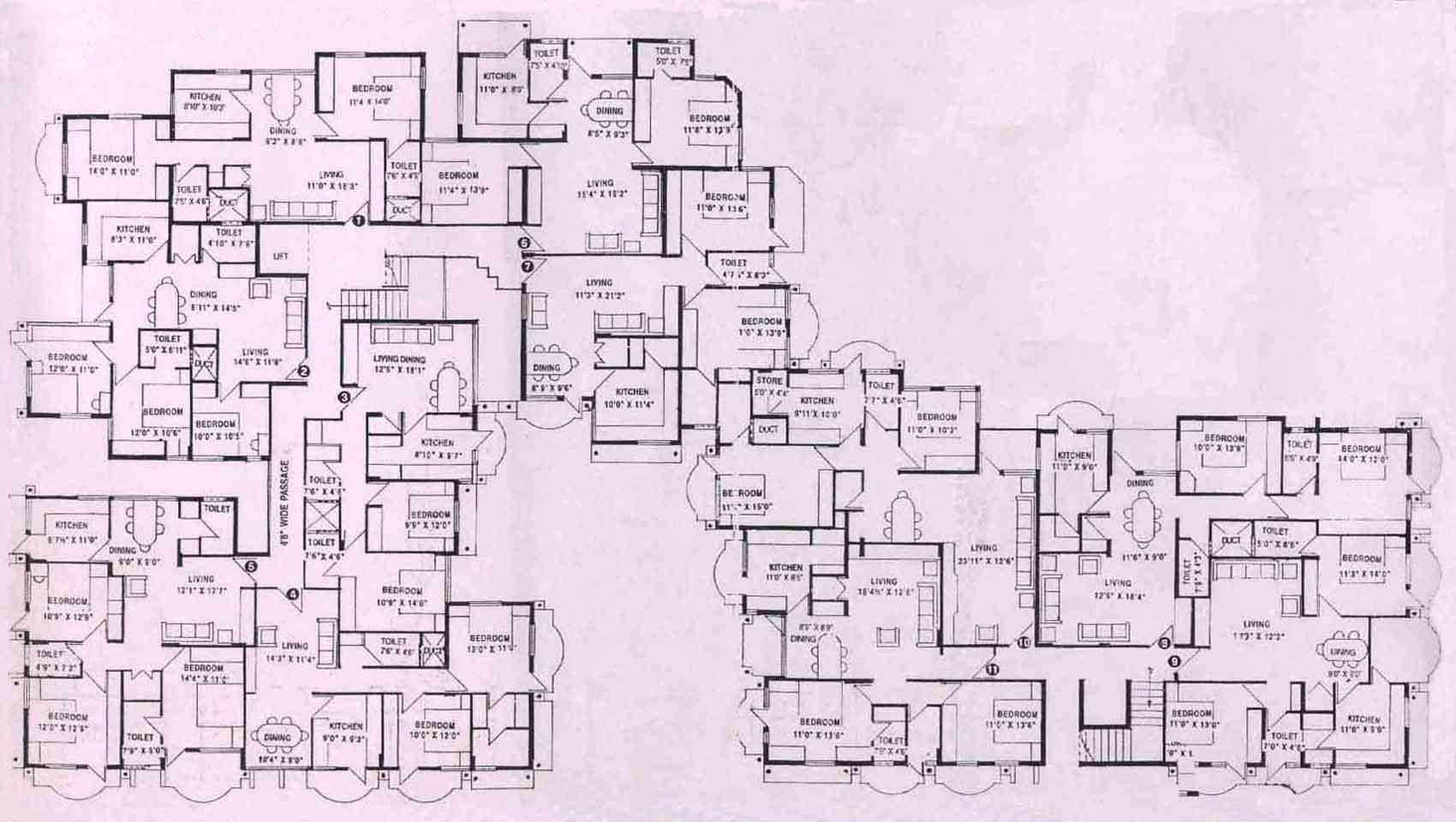 Apoorva Mansion Floor Plan House Floor Plans House Plans Mansion House Blueprints