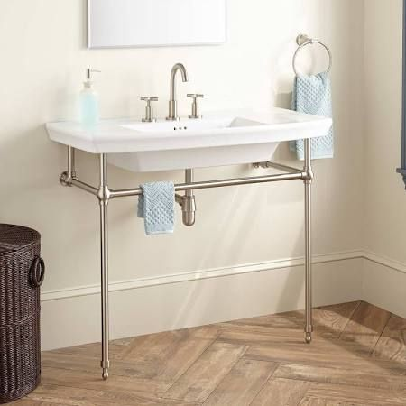 Pedestal Sink With Counter Space Google Search With Images