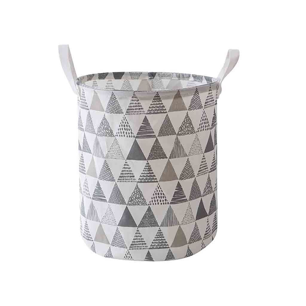 Details about  /Folding Laundry Basket With Lid Large Capacity Clothes Toy Storage
