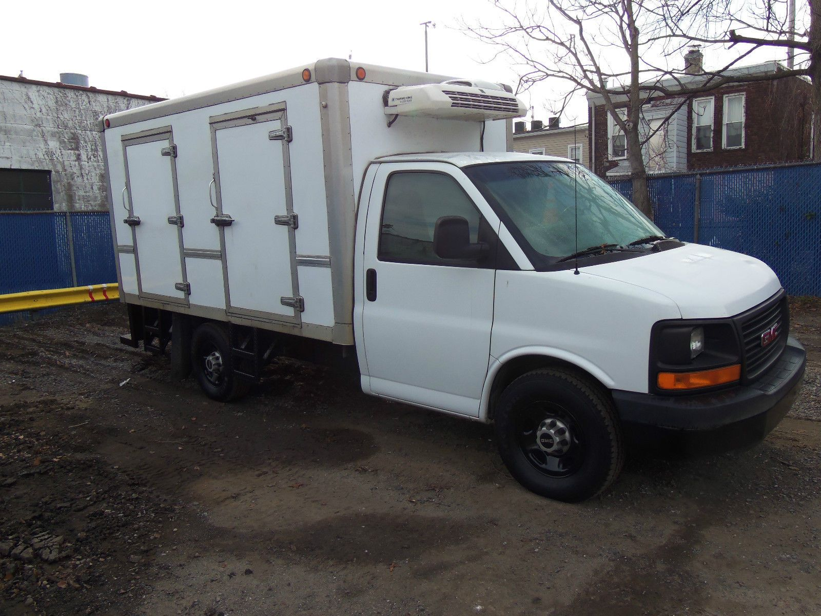 2009 Gmc Thermo King Reefer Body For Sale Gmc Trucks For Sale Thermos