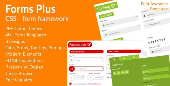 Download Free Forms Plus CSS - Form Framework # bootstrap - free form templates download