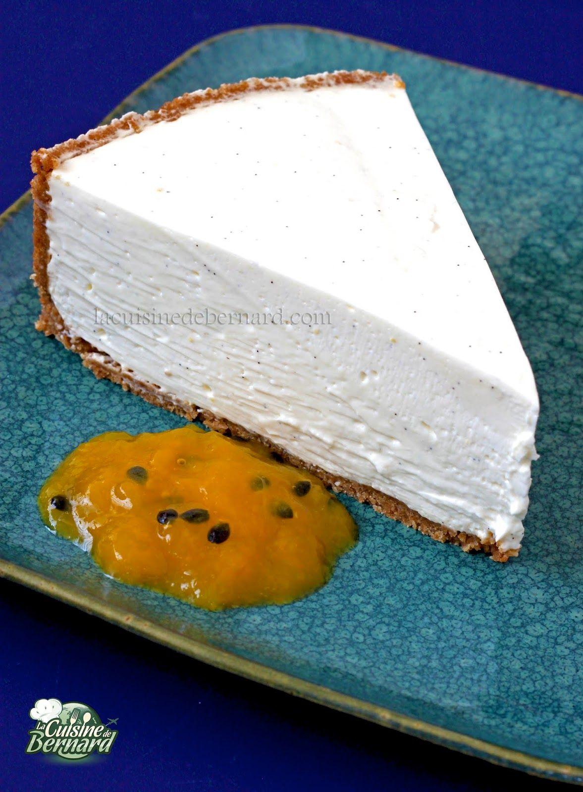 Cheesecake sans cuisson (avec images) | Cheesecake sans ...