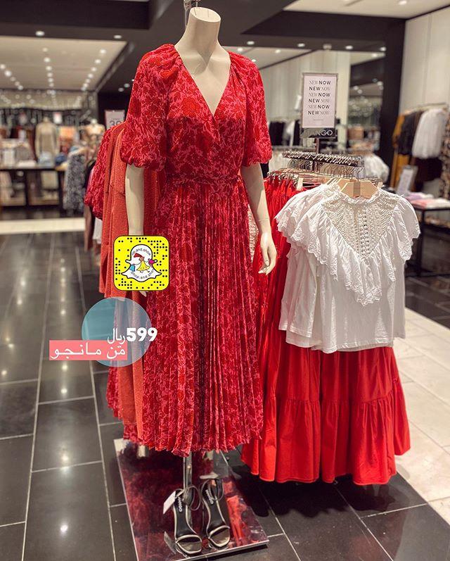 شوب اند شوو On Instagram شريتوا للعيد ولا ماعندكم عيد من مانجو ب 599 Fashion Dresses With Sleeves Long Sleeve Dress
