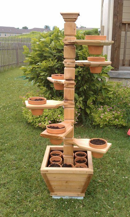 36+ DIY Plant Stand Ideas for Indoor and Outdoor ... on Plant Stand Ideas  id=41974