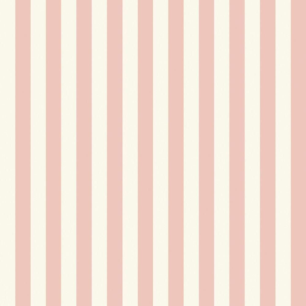 The Wallpaper Company In X In Pink Pastel Slender Stripe