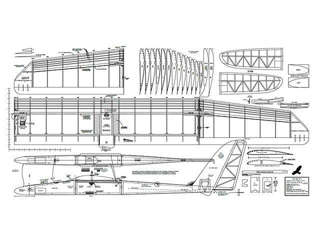 Easy Eagle - plan thumbnail | How to plan, Model planes ...