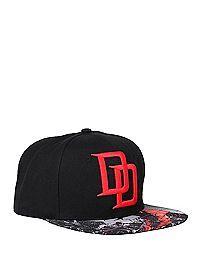 HOTTOPIC.COM - Marvel Daredevil Logo Snapback Hat
