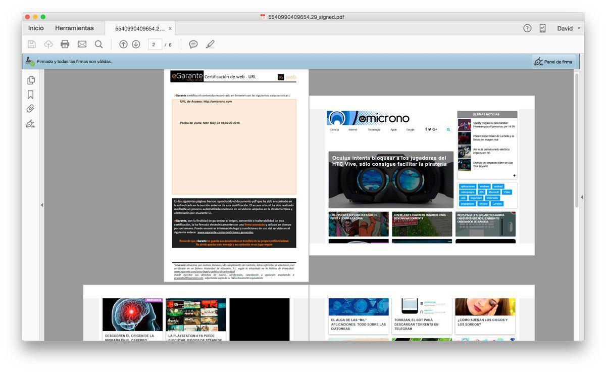 ¿Os acordáis de este artículo sobre cómo hacer que las capturas puedan ser una prueba verídica?  A nosotros nos gusta recordarlo ;)  Y es que explican qué es eGarante y para qué sirve.      http://news.aconde.es/como-sacar-capturas-de-pantalla-validas-en-un-juicio/