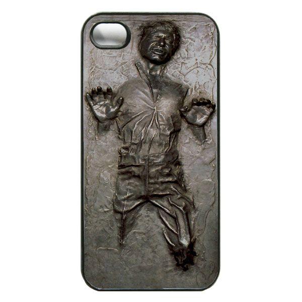 Star Wars Han Solo in Carbonite iPhone Case   Han solo carbonite ...