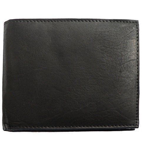 52fddd08b6b0c Damen Geldbörse Etui Portemonnaie schwarz-rot Leder Geldbeutel. doppeltes  Kleingeldfach mit Reißverschluss. 12 Kartenfächer 2 Sc…