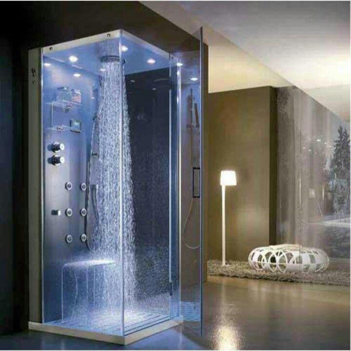 Waterfall Shower W Bench 3