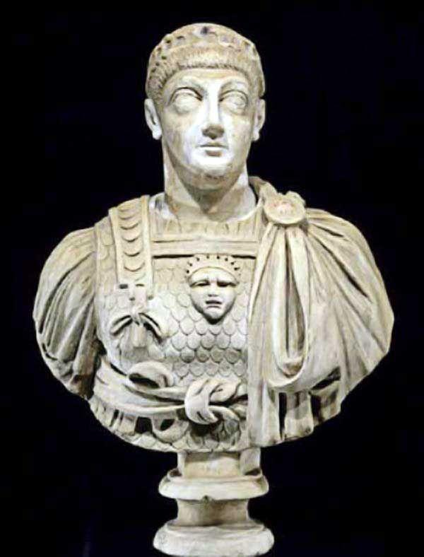Valentinian III (R 425-455). Son of Constantius III & Galla Placidia, he  was in Constantinople when Honorius died. V… | Roman sculpture, Roman empire,  Roman history
