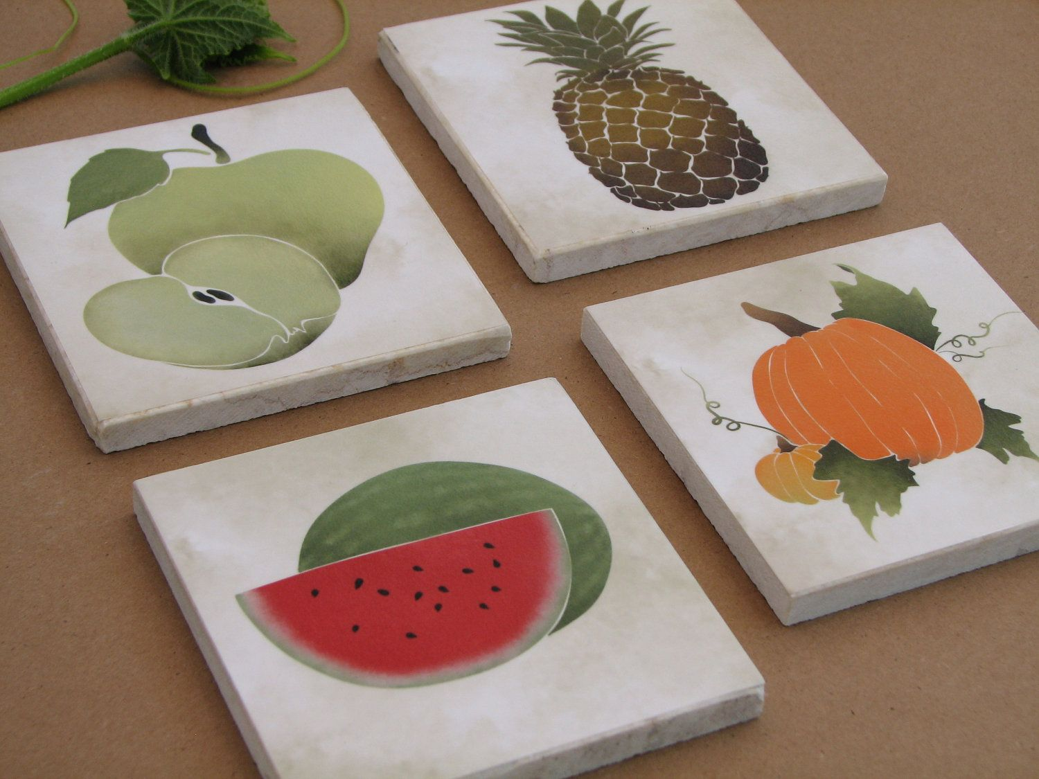 Fruit and vegetable wall art kitchen wall decor hanging fruit and vegetable wall art kitchen wall decor hanging decorative tile amipublicfo Gallery