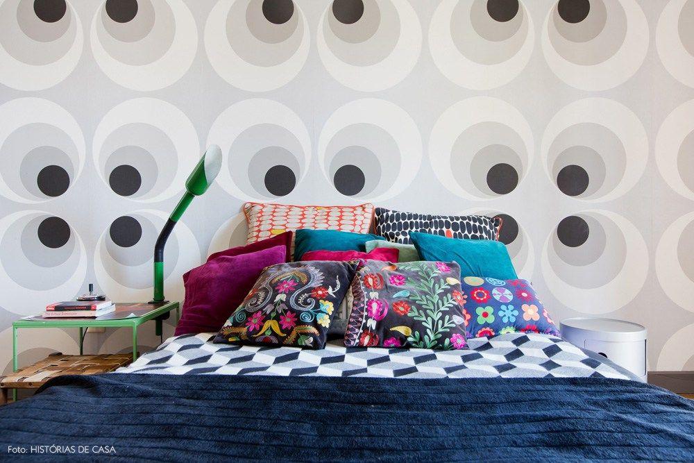 23-decoracao-quarto-papel-de-parede-vintage-cores-estampas