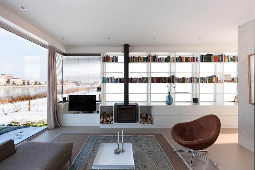 Marc prosman: ijburg villa interiors pinterest villas and hearths