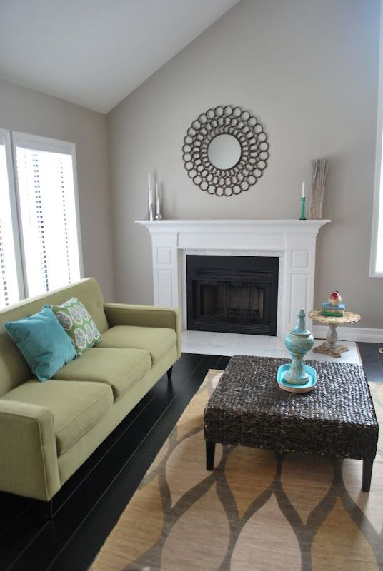 breathtaking beach house living room colors   Sherman Williams amazing grey   Living room decor colors ...