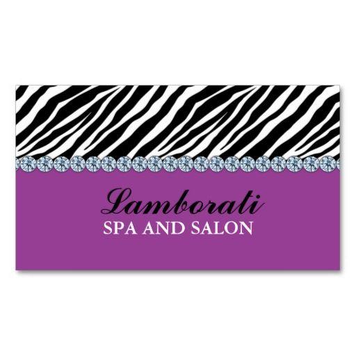 Jeweler jewelry zebra print diamond sparkle business card zebra jeweler jewelry zebra print diamond sparkle business card reheart Images