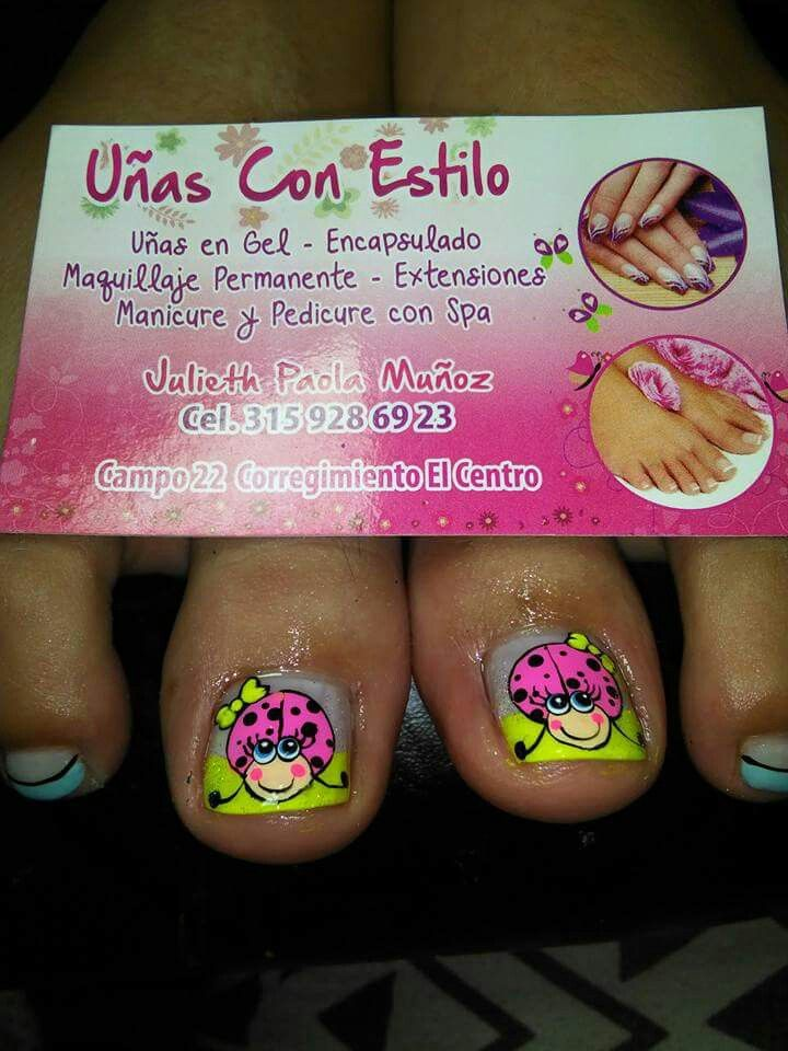 Pin by Mliliana Soche O on manualidad uñas | Pinterest | Pedicures ...