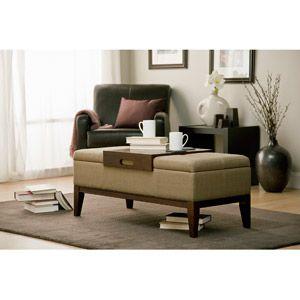 Strange Whalen Teagan Storage Ottoman Mocha Walmart His House Caraccident5 Cool Chair Designs And Ideas Caraccident5Info