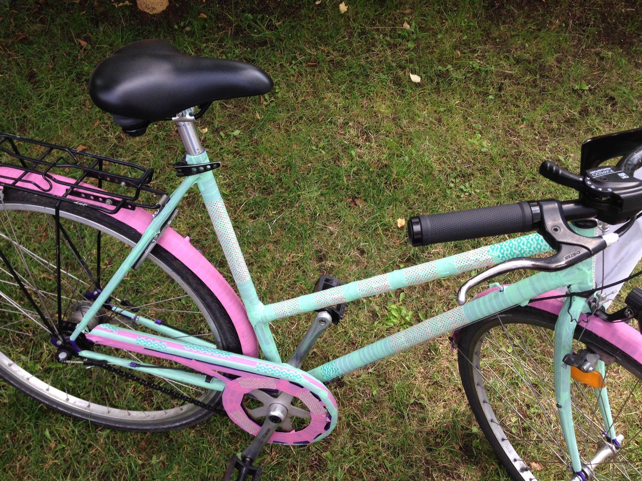 fahrrad bekleben tape fahrrad pinterest fahrr der. Black Bedroom Furniture Sets. Home Design Ideas