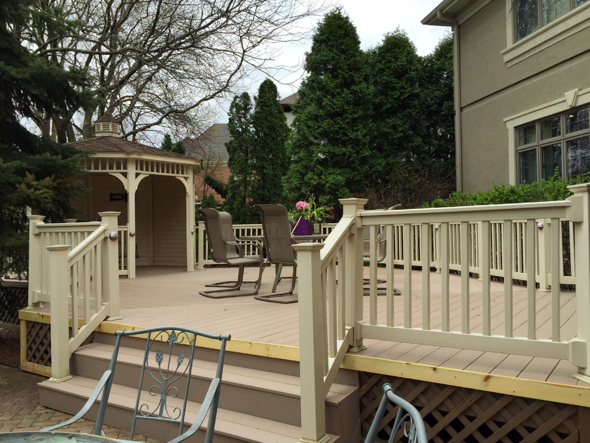 TimberTech Deck Design By Orland Park IL Builder