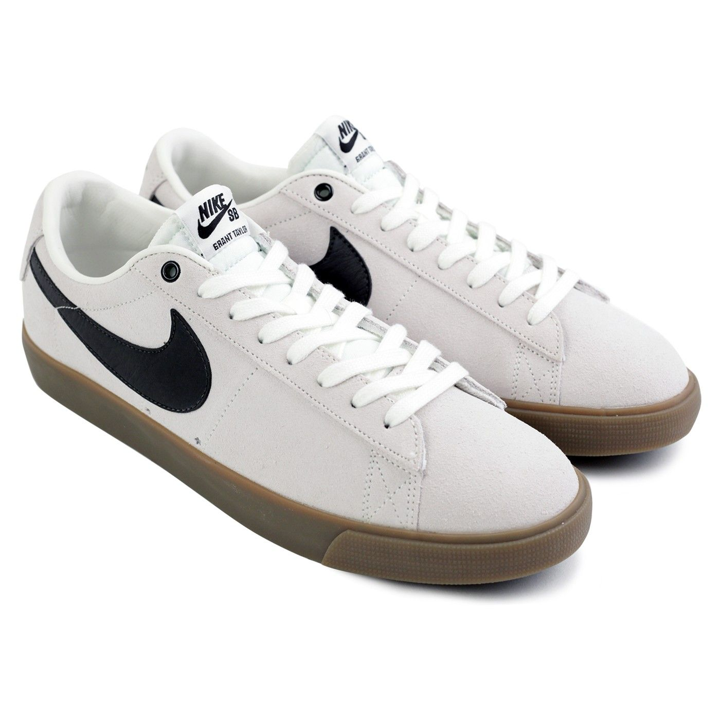 sports shoes 86e26 a8269 Blazer Low Grant Taylor Shoes in Ivory / Black-Gum Light ...